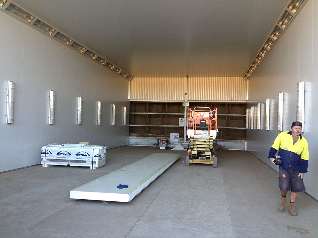 Enclosed down draft spray booths for Chinese furniture gold coast