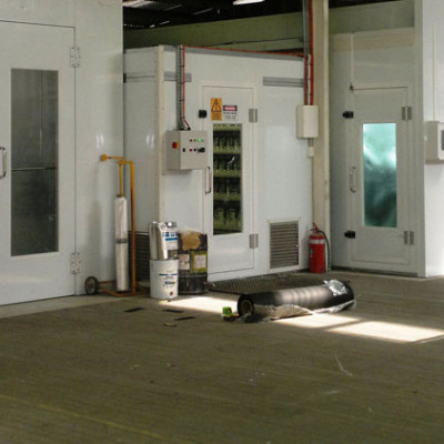 Full Down Draft Spray Booths